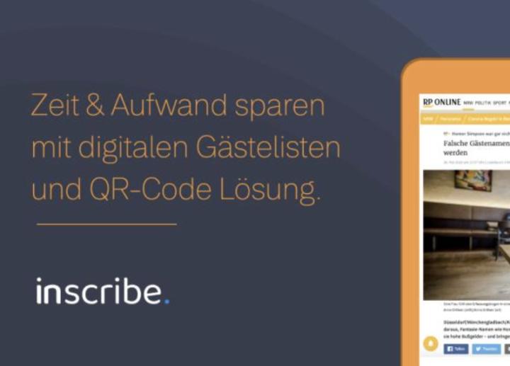 Zeit & Aufwand sparen mit QR-Code Lösung Inscribe