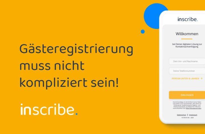 Digitale Liste verspricht DSGVO-konforme kontaktlose Anmeldung von Kunden & Teilnehmern