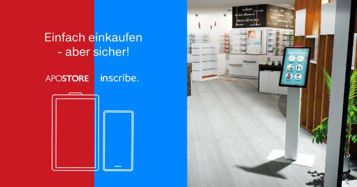 Einlassregulierung im stationären Handel durch digitale Systeme von COCUS AG und Apostore GmbH