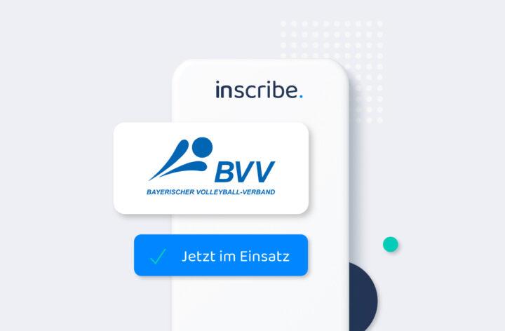 Endlich wieder Volleyball: BVV nutzt Inscribe als digitale Teilnehmerliste