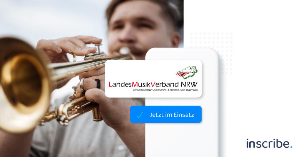 Inscribe wird beim LandesMusikVerband NRW eingesetzt