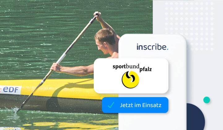Sportbund Pfalz setzt Inscribe zur sicheren Kontaktnachverfolgung ein